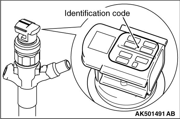 Injector Identification Code Registration Procedure