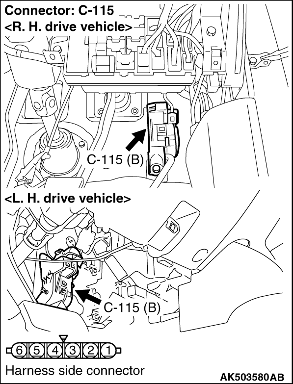 Code No P2122 Accelerator Pedal Position Sensor Main Circuit Low