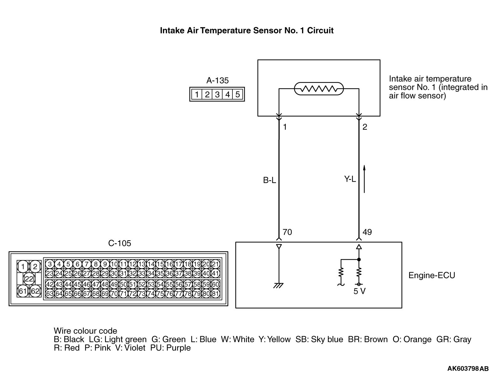 Intake Temperature Sensor Circuit Air Flow Detector Code No High Input 1575x1194