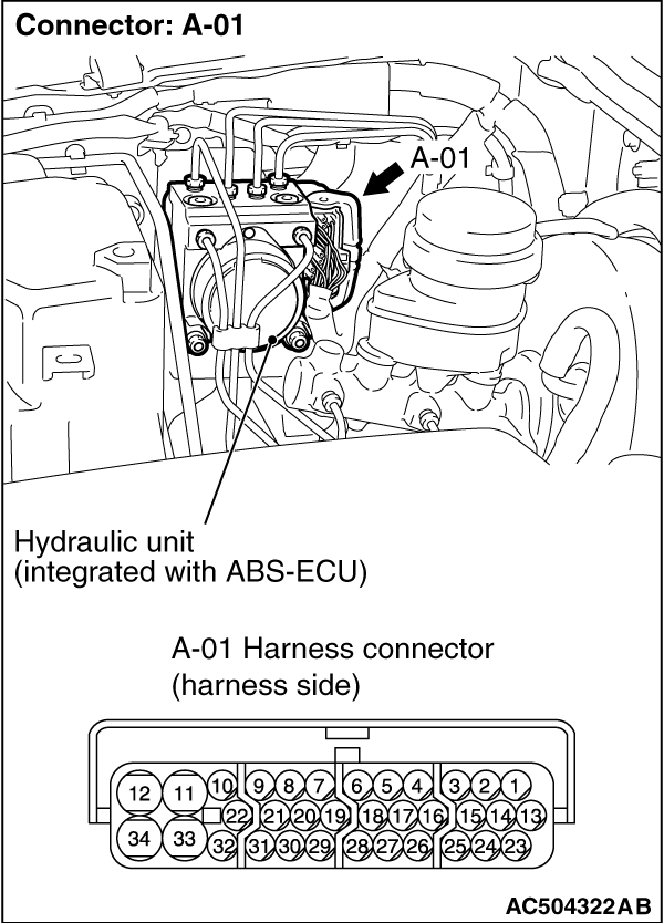 how to check abs wiring harness   31 wiring diagram images