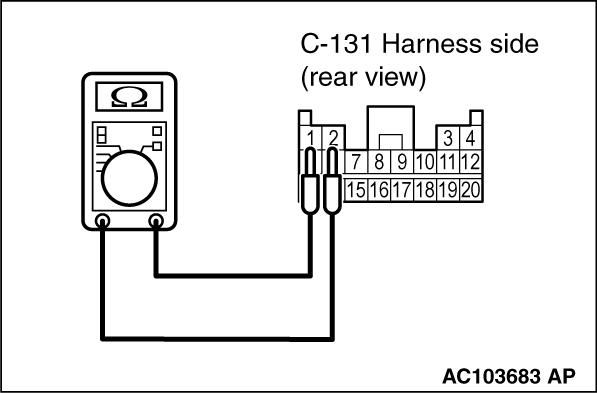 code no b1595 front impact sensor rh system  short circuit