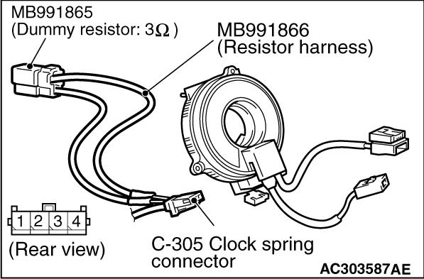 Code No B1403 Drivers Air Bag Module Squib System Short