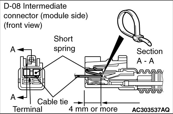 code no  b1b23 right curtain air bag module  squib  system