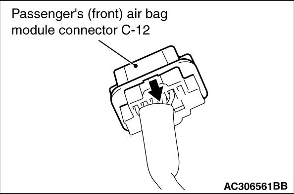 Code No B1b0b Passengers Front Air Bag Module 1st Squib System