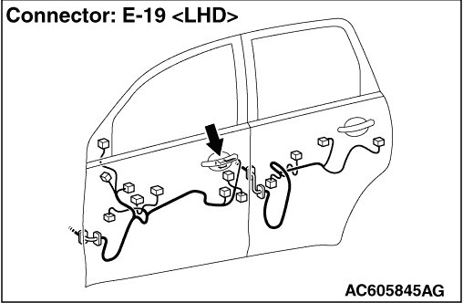 inspection procedure 10  driver u2019s door unlock sensor does