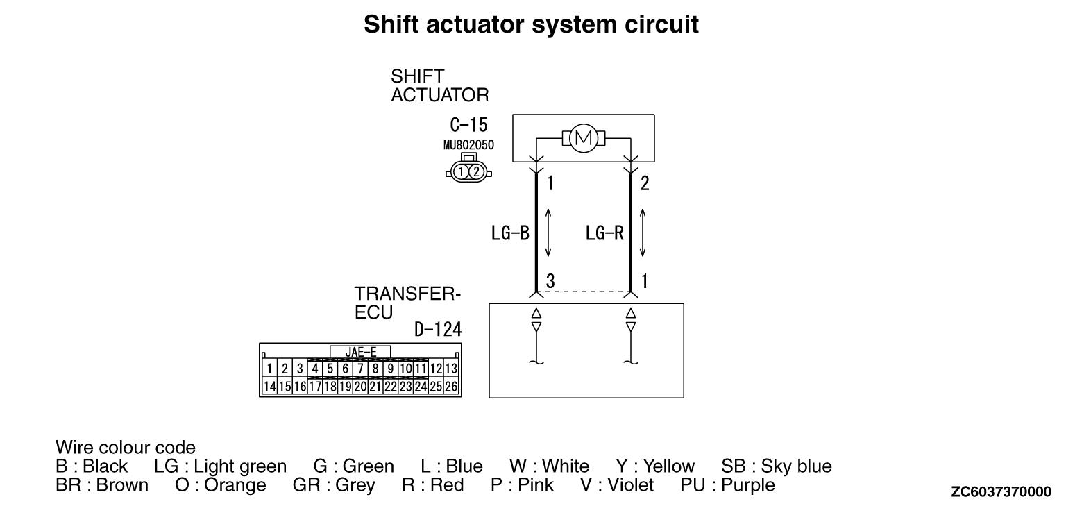 Code No41 Shift Actuator System Short Open Circuit C15 Acert Wiring Harness