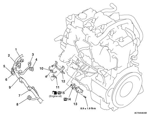N14 Engine Diagram