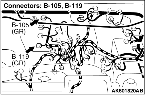 Code No  P2146: Injector Common 1 (cylinder No  1 and No  4