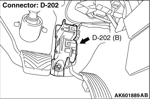 Code No P2123 Accelerator Pedal Position Sensor Main Circuit