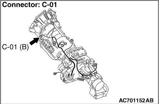 Code No P1766 (P0715): Input shaft speed sensor system
